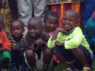 Children at Rugende
